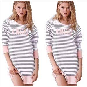 Victoria's Secret long sleeve shirt night NWT S